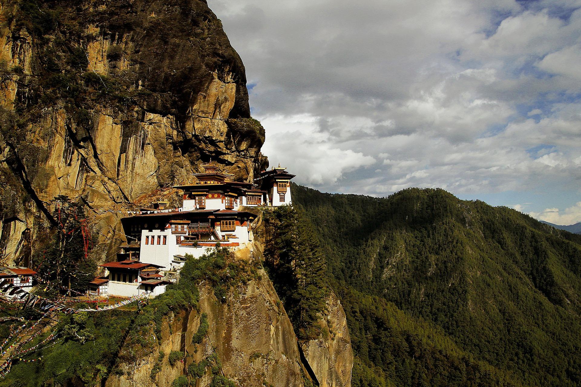 bhutan tiger's nest guida viaggi