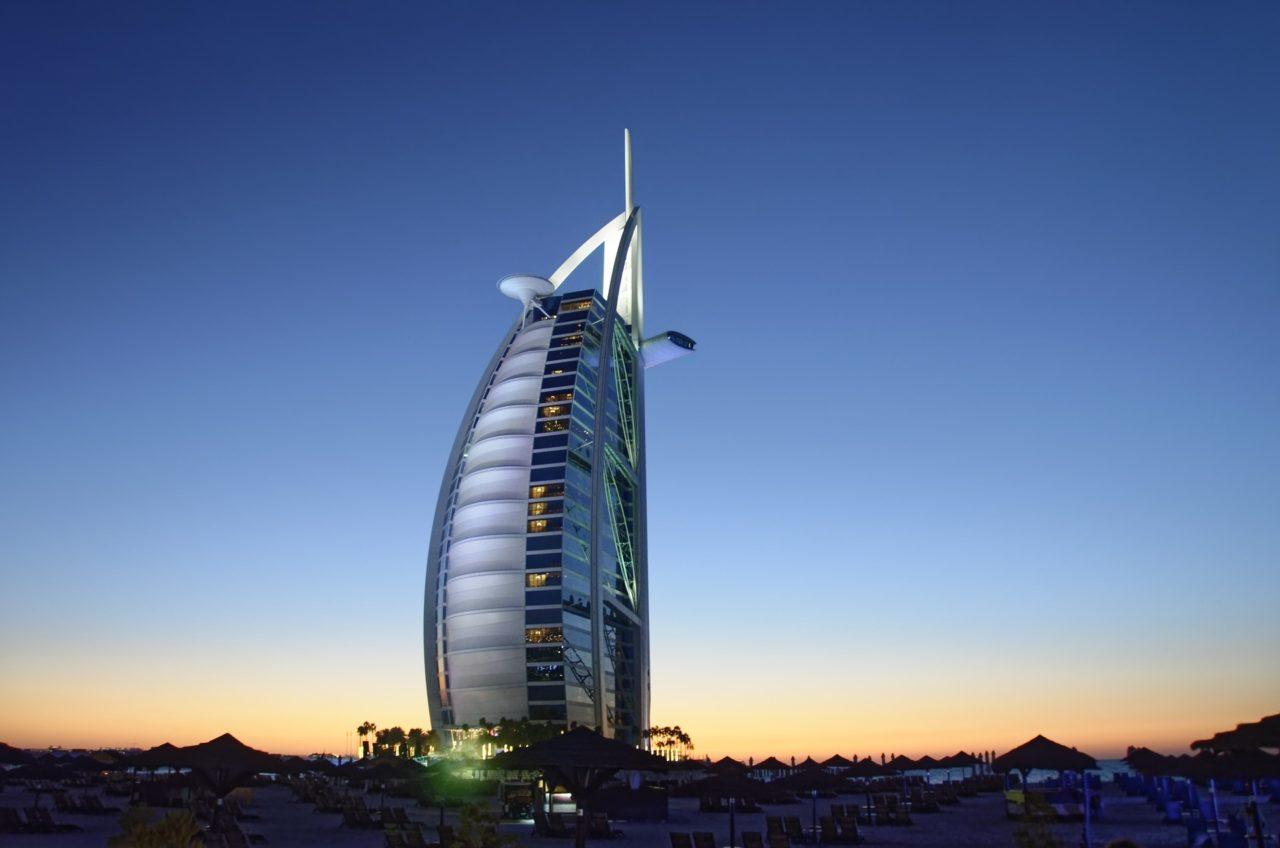 dubai Burj al-Arab hotel