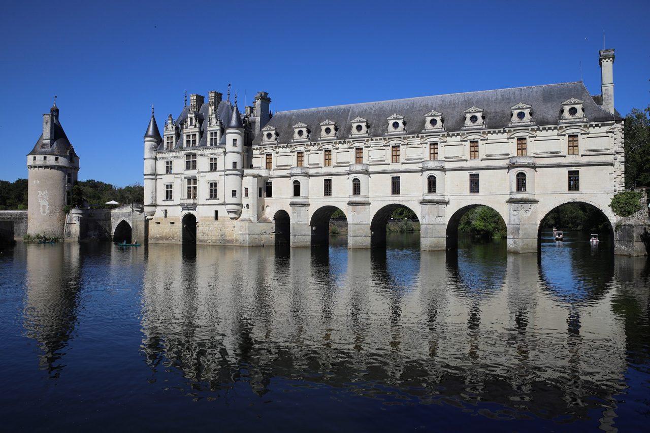 Francia castello di Chenonceau