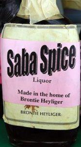 Saba Spice è una vecuanda unica di rum anice chiodi di garofano noce moscata e scorza d'arancia