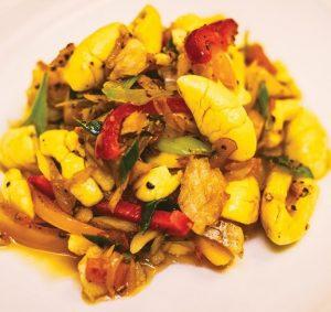 Ackee piatto nazionale giamaicano