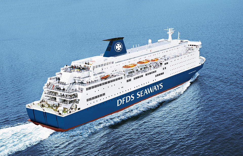 motonave dfds nord europa
